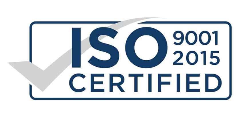 ISO 9001-2015 certificeret
